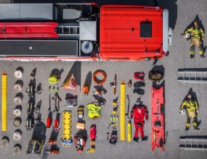 First Responders' tools