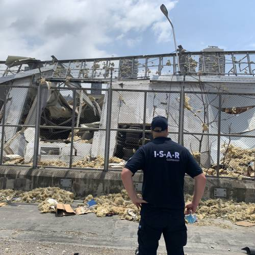 INGENIOUS partners in ISAR were part of the joint USAR mission with THW (SEEBA) under the lead of THW after the explosion in Beirut