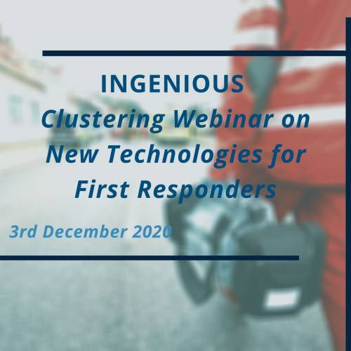 Clustering Webinar on New Technologies for First Responders