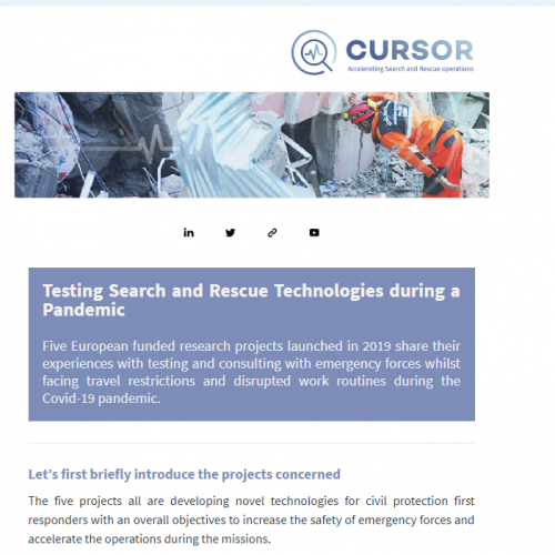 Joint newsletter with our cluster projects on testing activities & the challenges posed by the Covid-19 pandemic